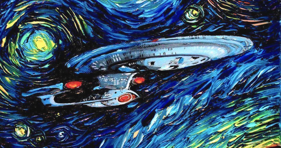 Themed Printable Movie And TV Poster Paintings By Van Gogh