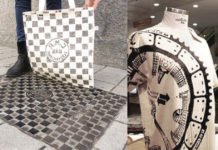 Stamping Manhole Covers On Shirts and Bags