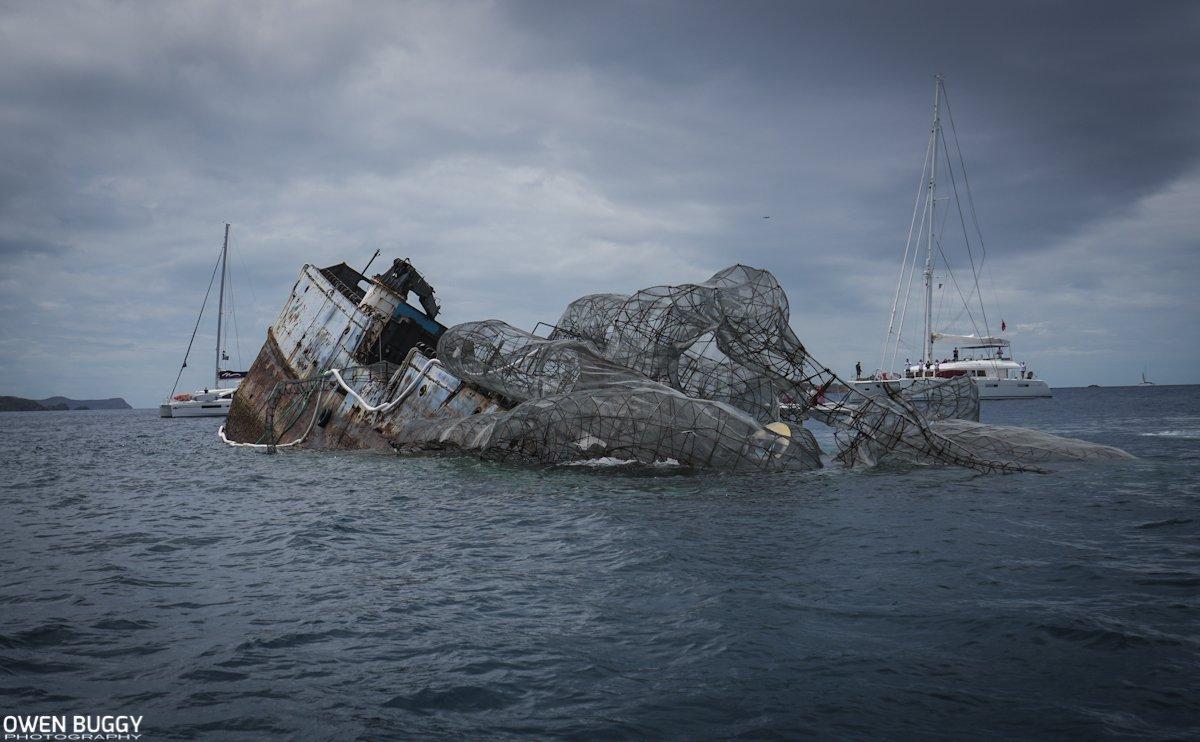 Giant Kraken Sunken