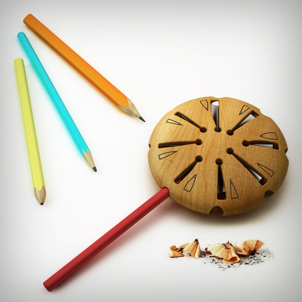 Lollypop Pencil Sharpener Design 2