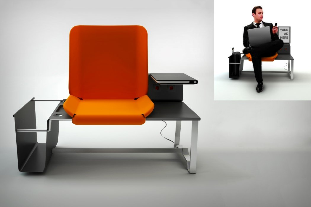 Restpoint Airport Seating Design