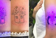 Secret Ultraviolet Tattoos Comes To Life Under Black Light