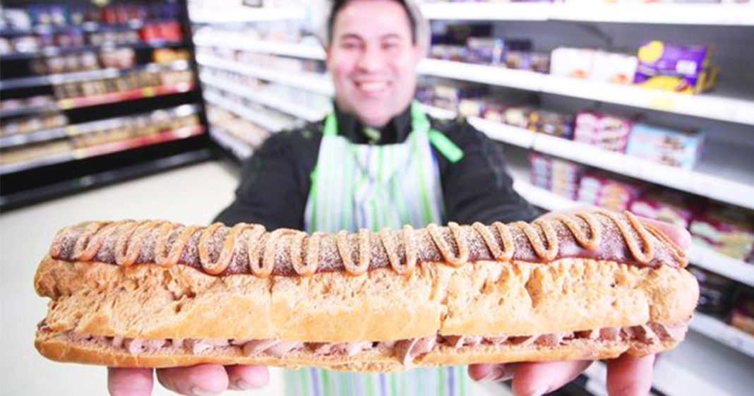 Get Your Massive Foot-Long Chocolate Eclair