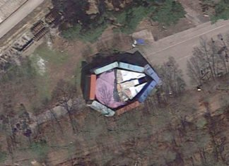 Hide Millennium Falcon On The Ground But Google Maps Will Catch Ya
