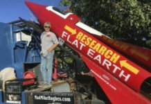 Mike Says Rocket launch will prove Earth is flat