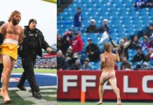 This Streaker Ran Into The Field Naked In The Saints-Bills Game