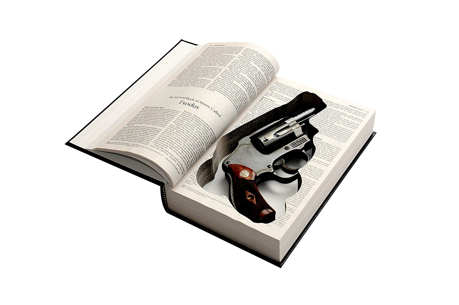 Hidden Gun Storage Bible  Keep your firearm hidden!
