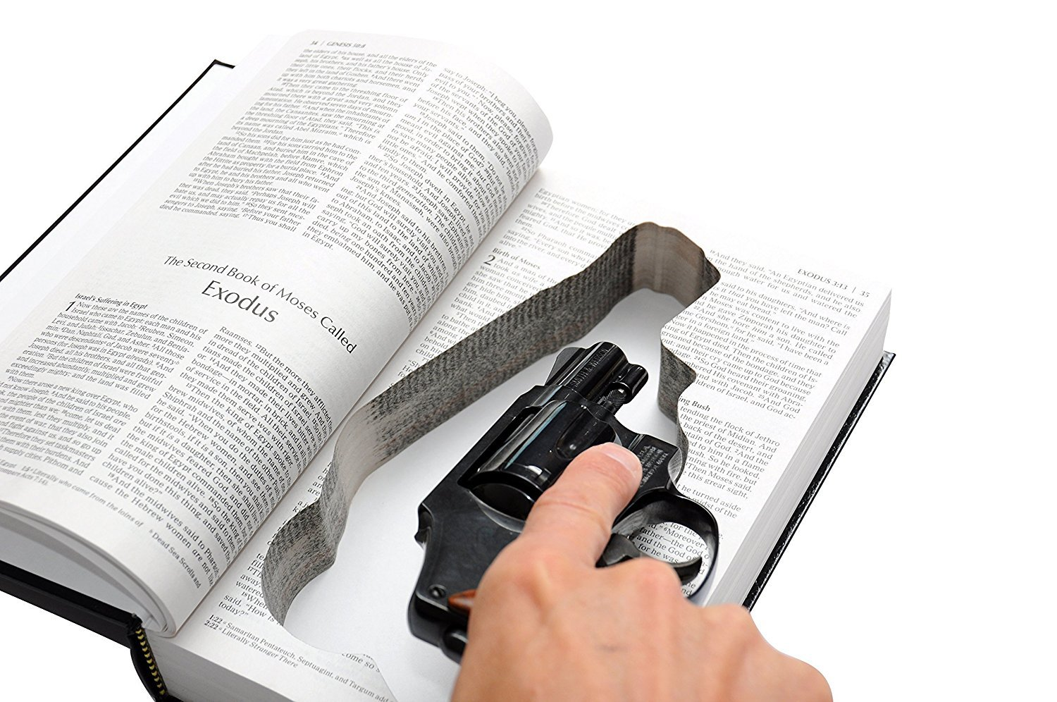 Hidden Gun Storage Bible