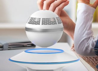 360 Floating And Levitating Wireless Bluetooth Speaker