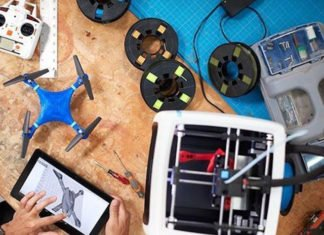 Assembled 3D Printer with WiFi for Educators and Innovators