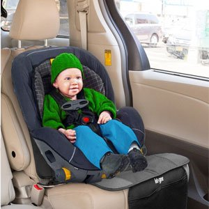 Car Seat Protector And Backseat Organizer