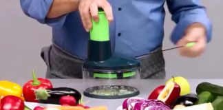 Hand Powered Food Processor