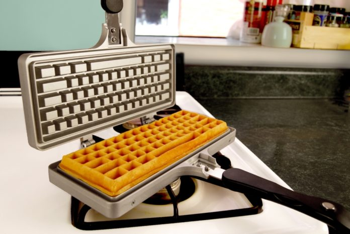 Let The Keyboard Waffle Your Unique Breakfast
