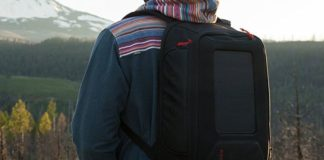 Rapid Solar Backpack Charger