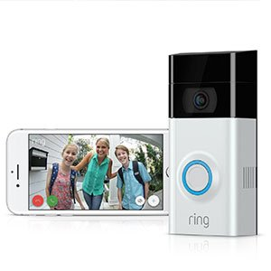 Standalone With Motion Activated Ring Video Doorbell