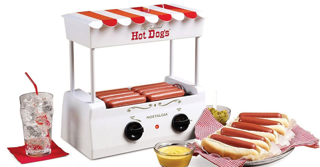 A Nostalgia Hot Dog Roller with Bun Warmer to Love!