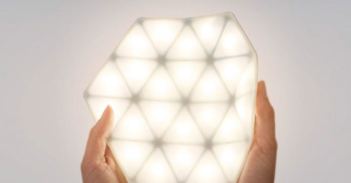 A Portable and Flexible Interactive Light