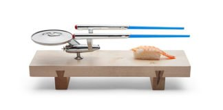 A Star Trek U.S.S Enterprise Inspired Sushi Set