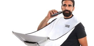 A Very Useful Beard and Mustache Catcher