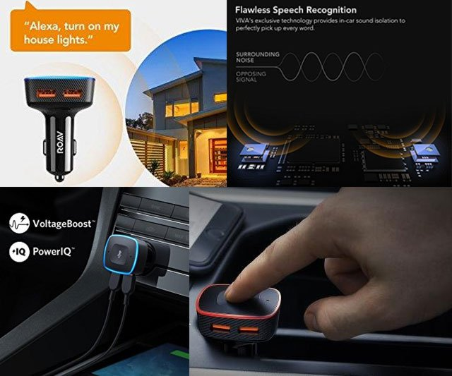 Alexa-Enabled Anker USB Car Charger