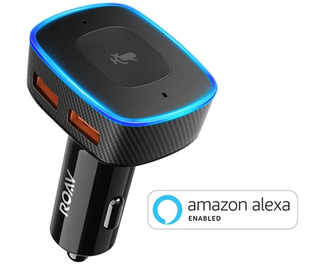 Alexa Voice Controlled USB Car Charger