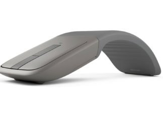 Curve The Arc Touch Bluetooth Mouse For Comfort