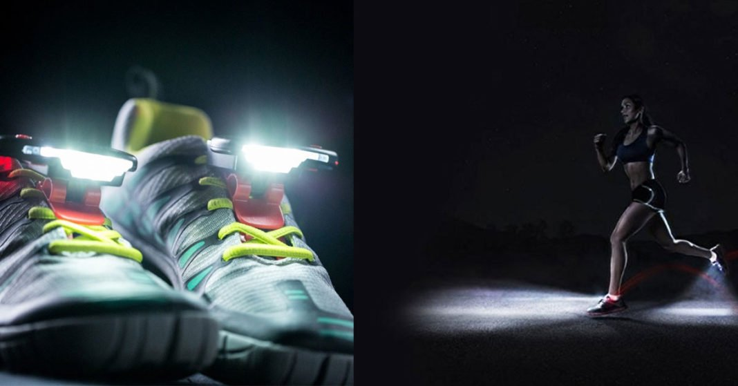 Feel Safe With These Shoe Lights For Night Runners