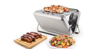 Grill Anywhere With This Portable BBQ Suitcase!