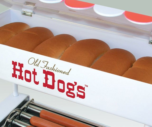 Hot Dog Bun Warmer