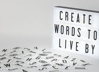 USB Led Lightbox Board: Create Personalized Signs Every day!