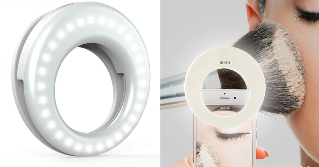 With This Selfie Ring LED Camera Light You Will Look Amazing