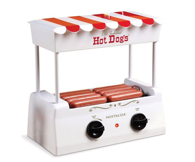 Hot Dog Cooker And Bun Warmer