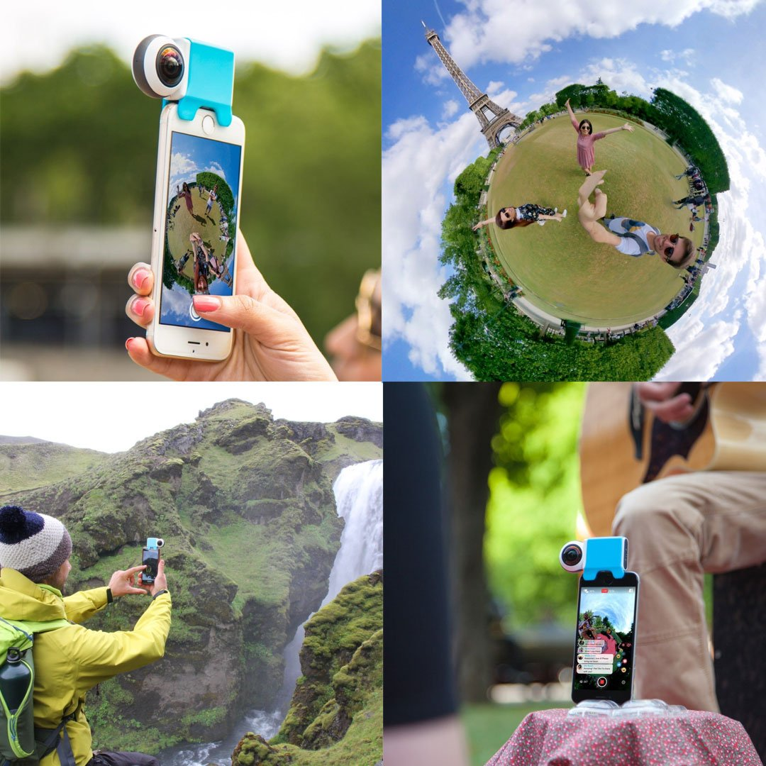 360 Degree Camera For iPhone And Ipad
