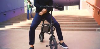 A Folding Electric Bike To Travel With Style In The City