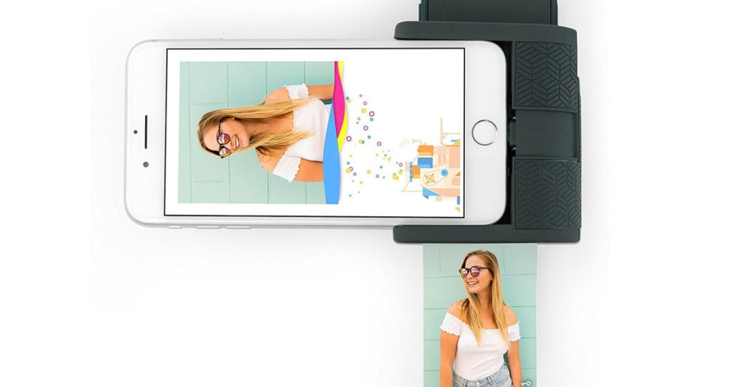 A Pocket-Sized Instant Photo Printer for iPhone