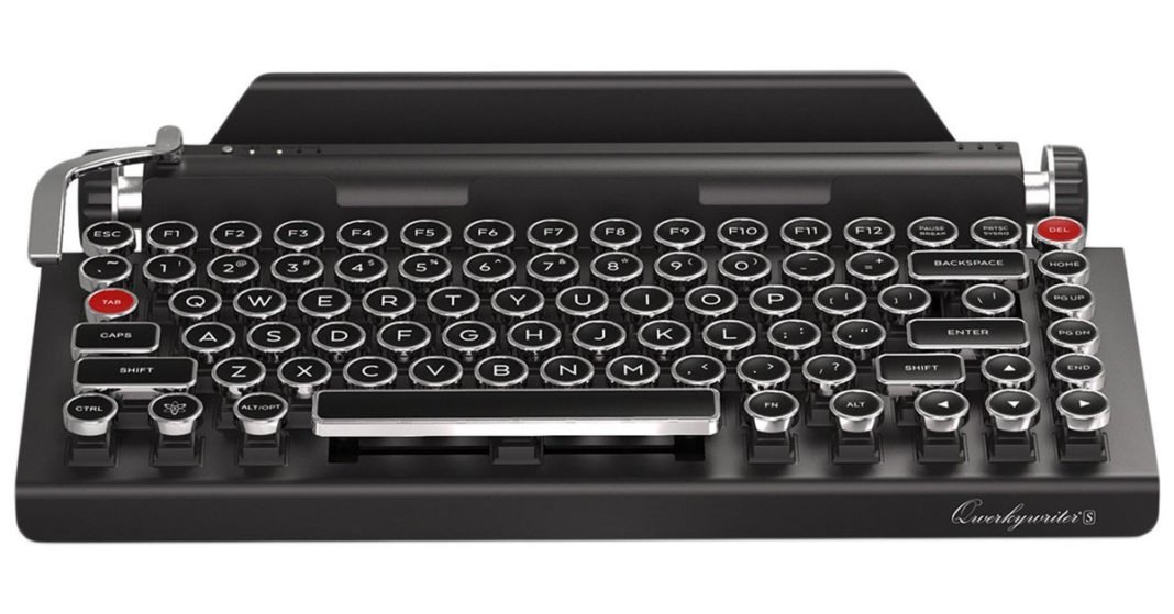 A Wireless Retro Mechanical Keyboard S Typewriter