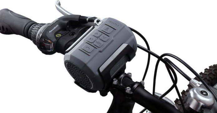 Best Handlebar Sport Bike Speakers With Wireless Bluetooth Connection