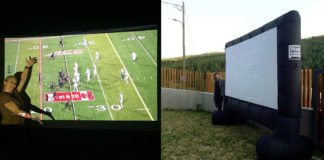 Best Inflatable Movie Screen Projector For Outdoor