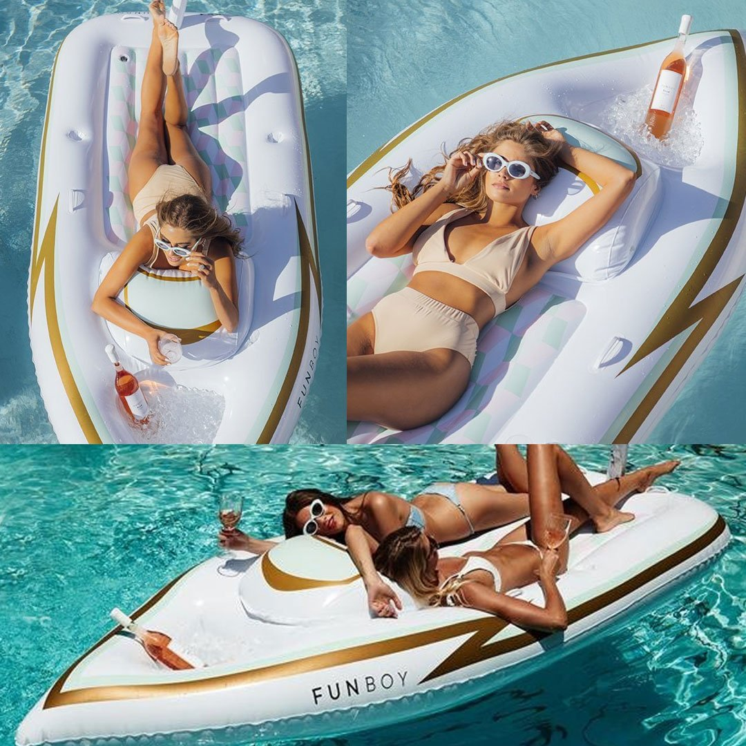 Giant Inflatable Yacht Pool Float