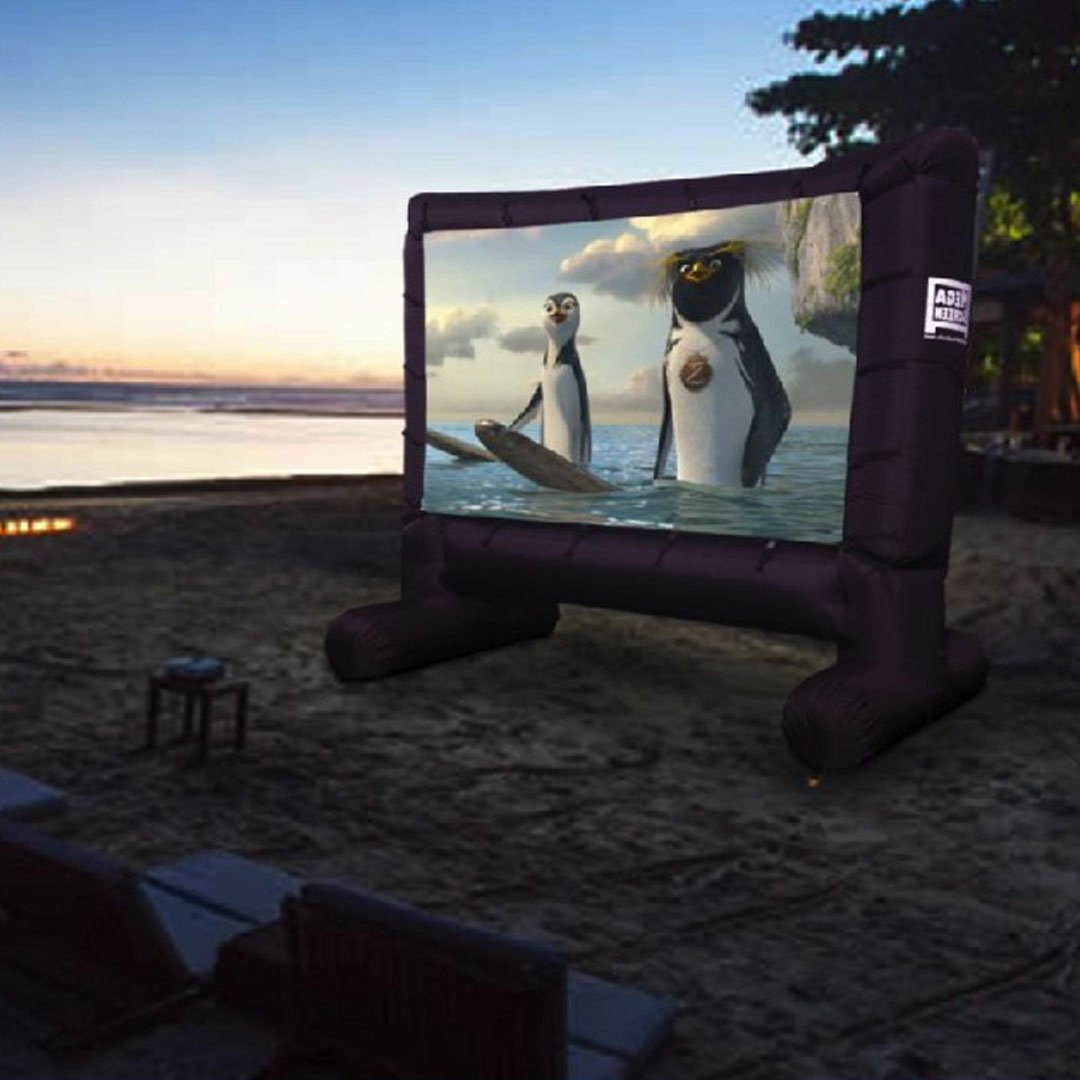 Inflatable Movie Screen Projector
