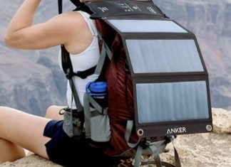 Very Fast Dual Smartphone USB Solar Charger