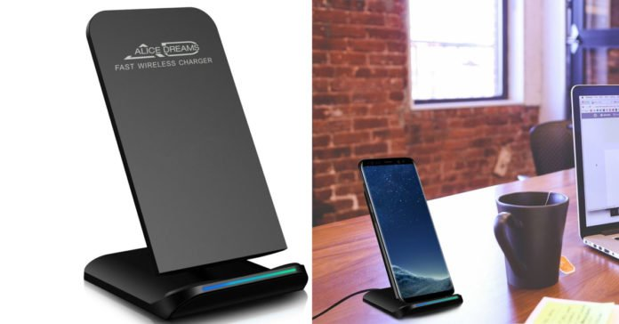 Wireless Charger For iPhone X Fast Charging Pad Samsung Galaxy S