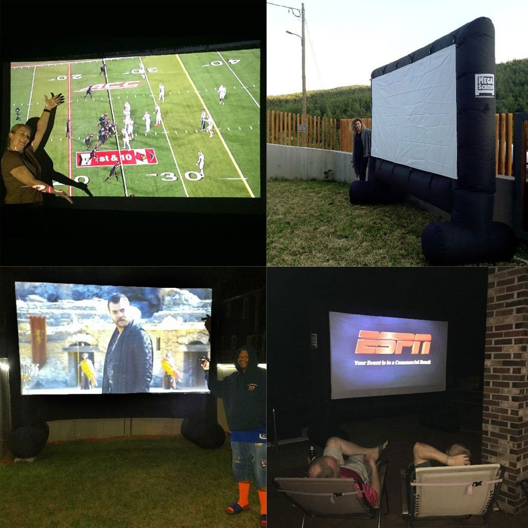 Movie Projector Screen Outdoor