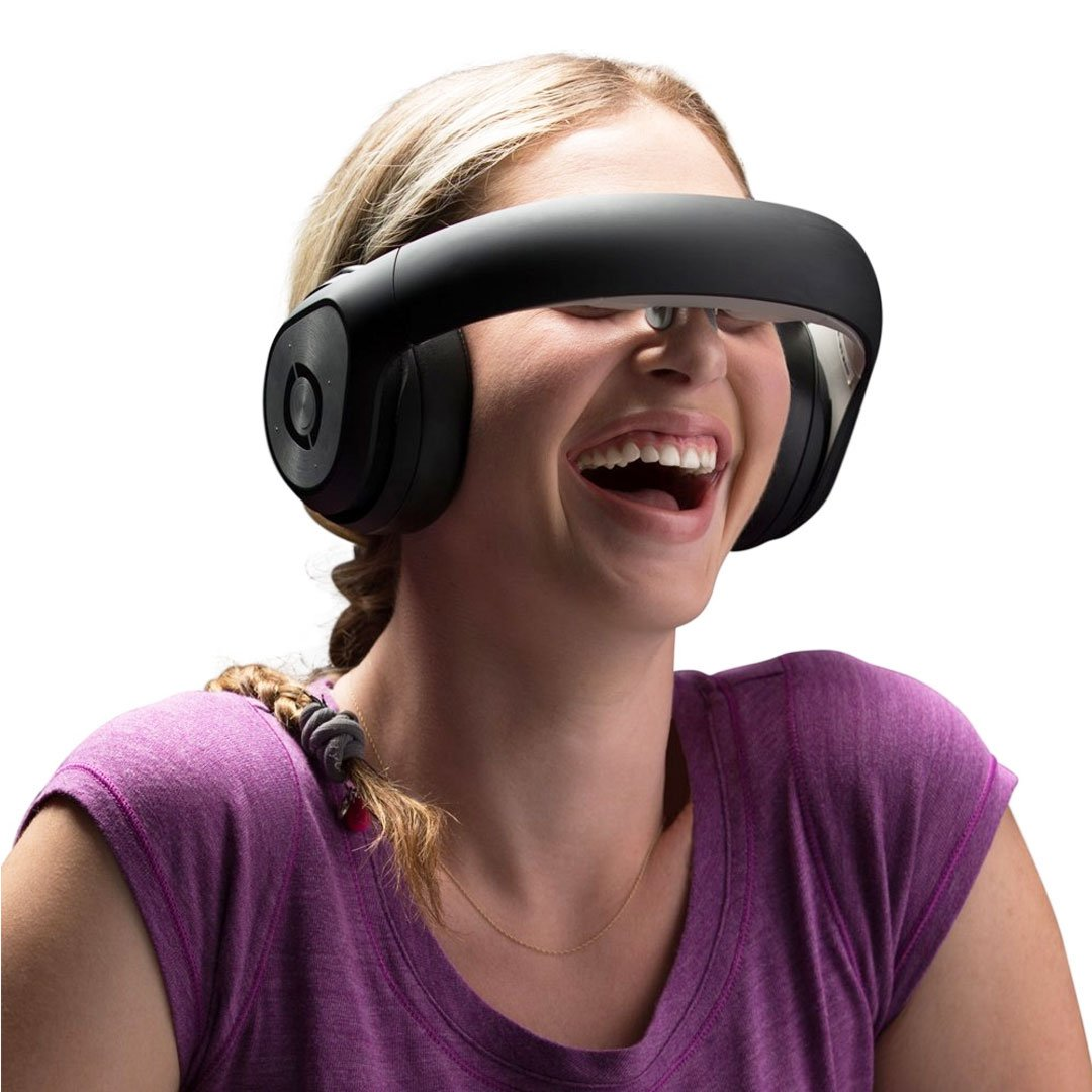 3D Virtual Reality Headset Headphones
