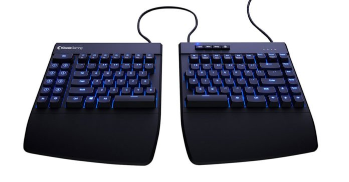 An Amazing Split Gaming Keyboard For Best Gaming Control