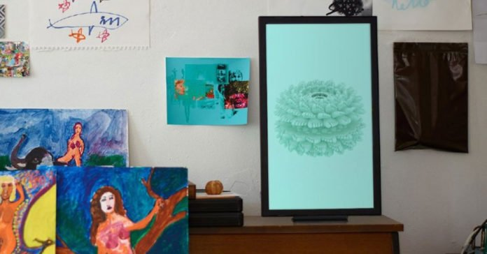 Internet Connected Digital Art Display At Your Home