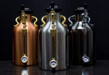 Keep It Cold And Carbonated With This Pressurized Beer Growler