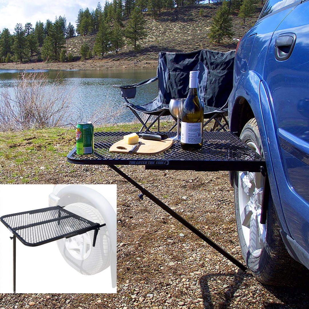 Tire Mounted Table