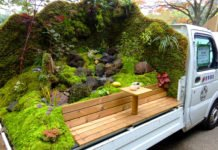You Have To See These Stunning Japanese Mini Truck Gardens Contest
