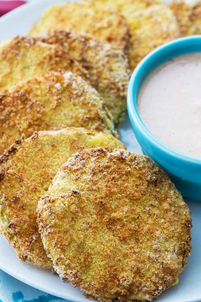 Air Fryer Fried Green Tomatoes Recipe